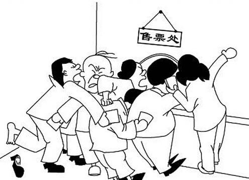 马路场景漫画手绘